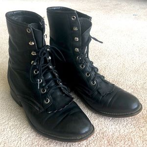 Laredo lace up boots